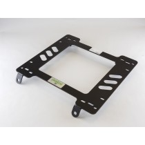 Planted Seat Bracket- Nissan/Datsun 260Z, 280Z (1974.5-1978) *Angled Rear Tabs* - Driver / Left