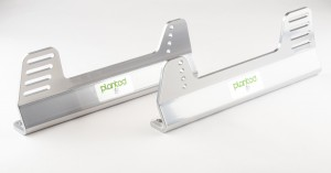 Planted Aluminum Offset Universal Side Mount- Grey